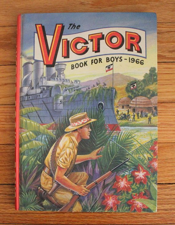 The Victor Book For Boys 1966 by SkippysFunHouse on Etsy