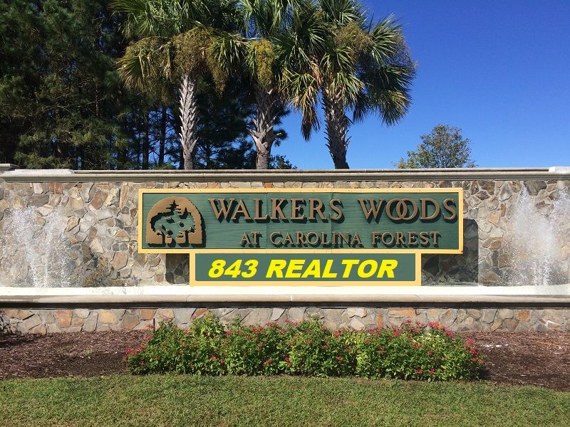 Walkers Woods Carolina Forest Myrtle Beach SC homes for ...