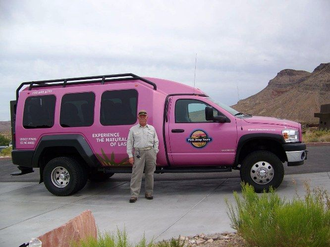 Great Pink Jeep Tours Las Vegas