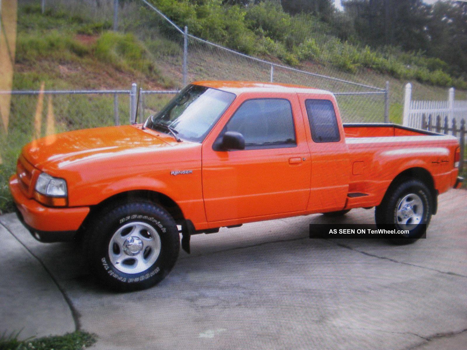 1998 Ford Ranger Splash Extended Cab Pickup 2 Door 4 0l Ford Ranger Ranger Ford Trucks