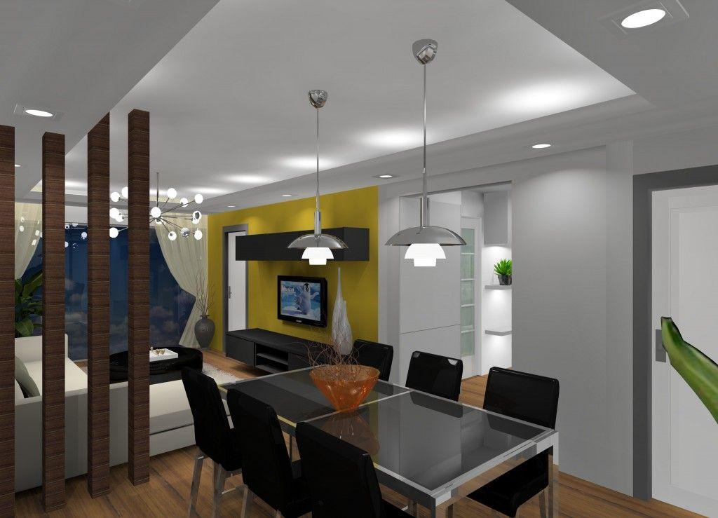Design Ruang Tamu Rumah Teres 2 Tingkat  Desainrumahidcom