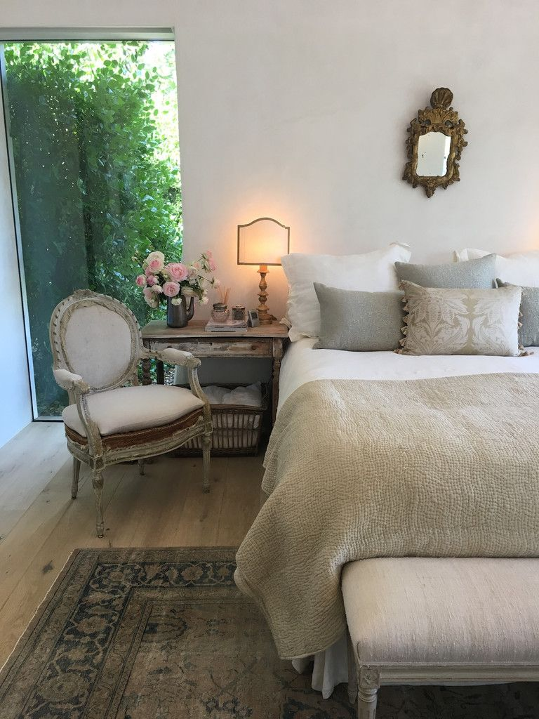 Patina style romantic bedroom - I Had The Wonderful Opportunity To Visit Brooke And Steve Giannetti S Patina Farm This Past Weekend For A Party To Celebrate Their Book By The Same Name