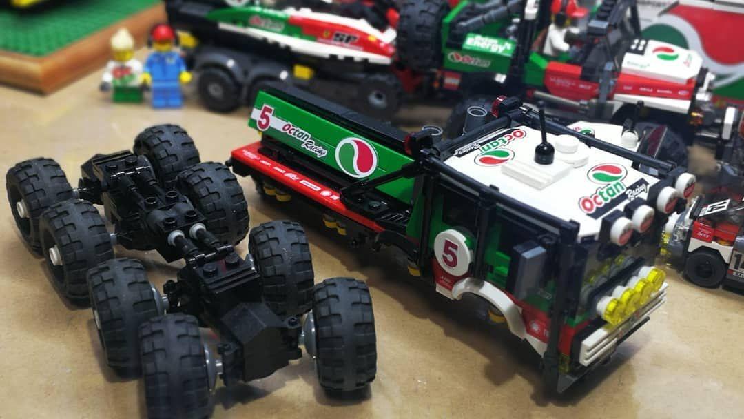 Lego Octan Racing 8x8 Trial Truck Lego Legocity Octanracing