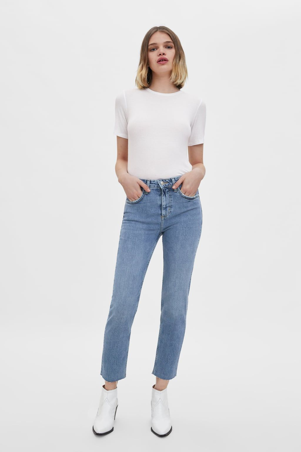 3b038ef8f25f Slim fit hi-rise jeans in 2019 | Wish list | Jeans, Women's high ...