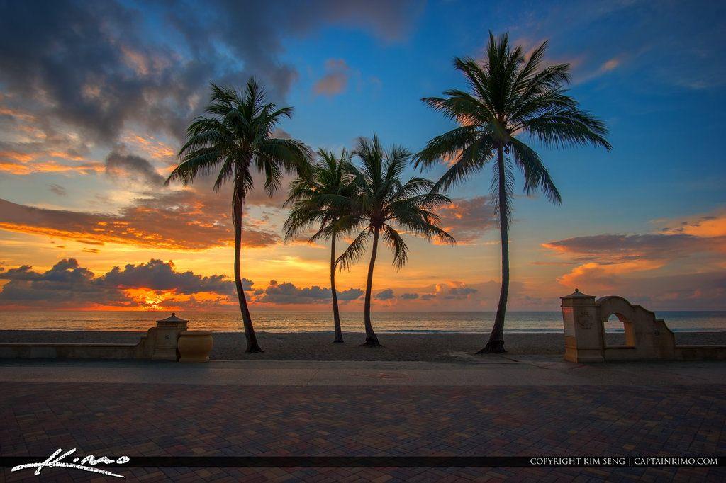hollywood_beach_sunrise_from_new_mexico_street by CaptainKimo