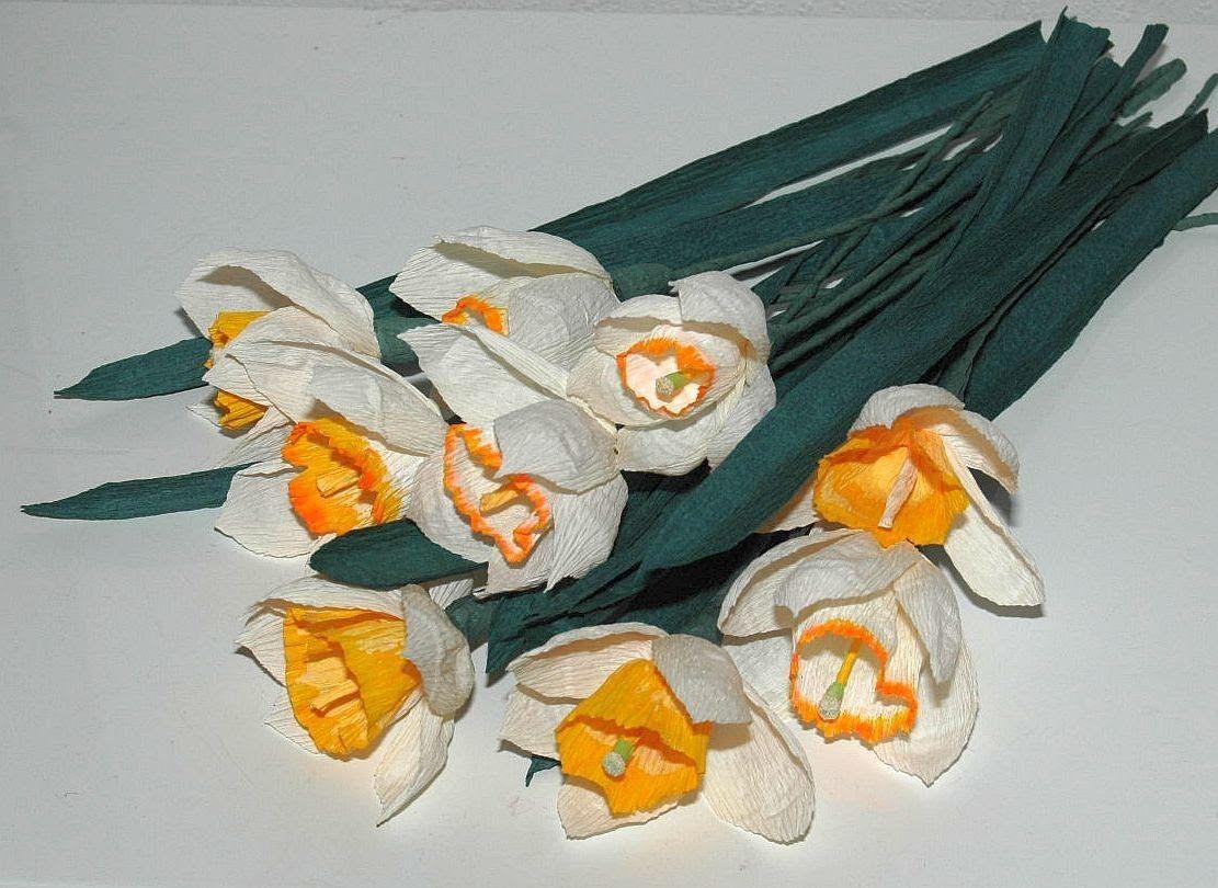 Jak Zrobic Kwiaty Z Bibuly Zonkile I Narcyzy Diy Paper Flowers Flowers Diy Paper