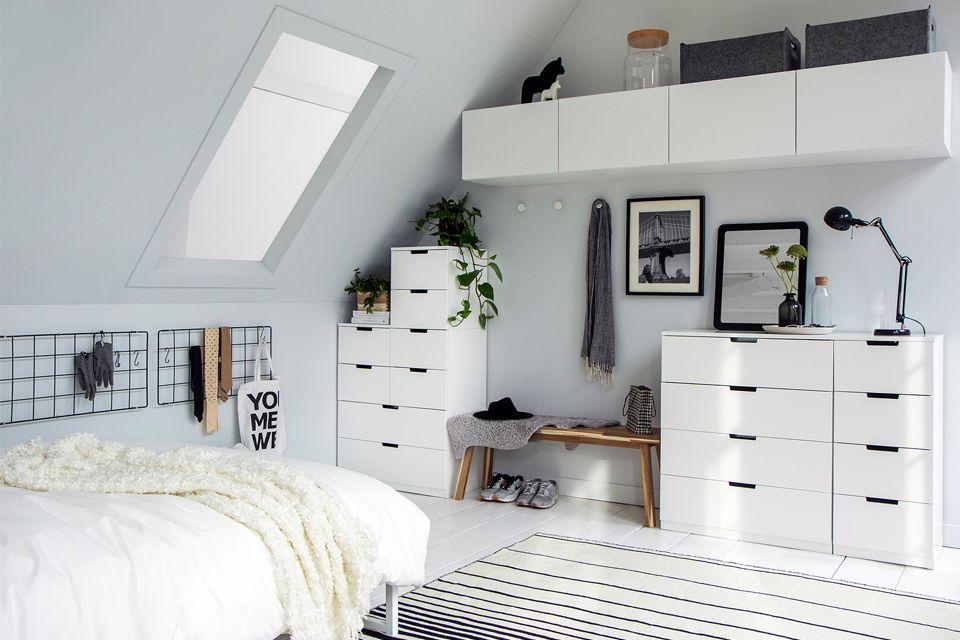 Voorkeur 3 Schuin dak? Maak een slaapkamer | Pinterest | Bedrooms  @WJ55