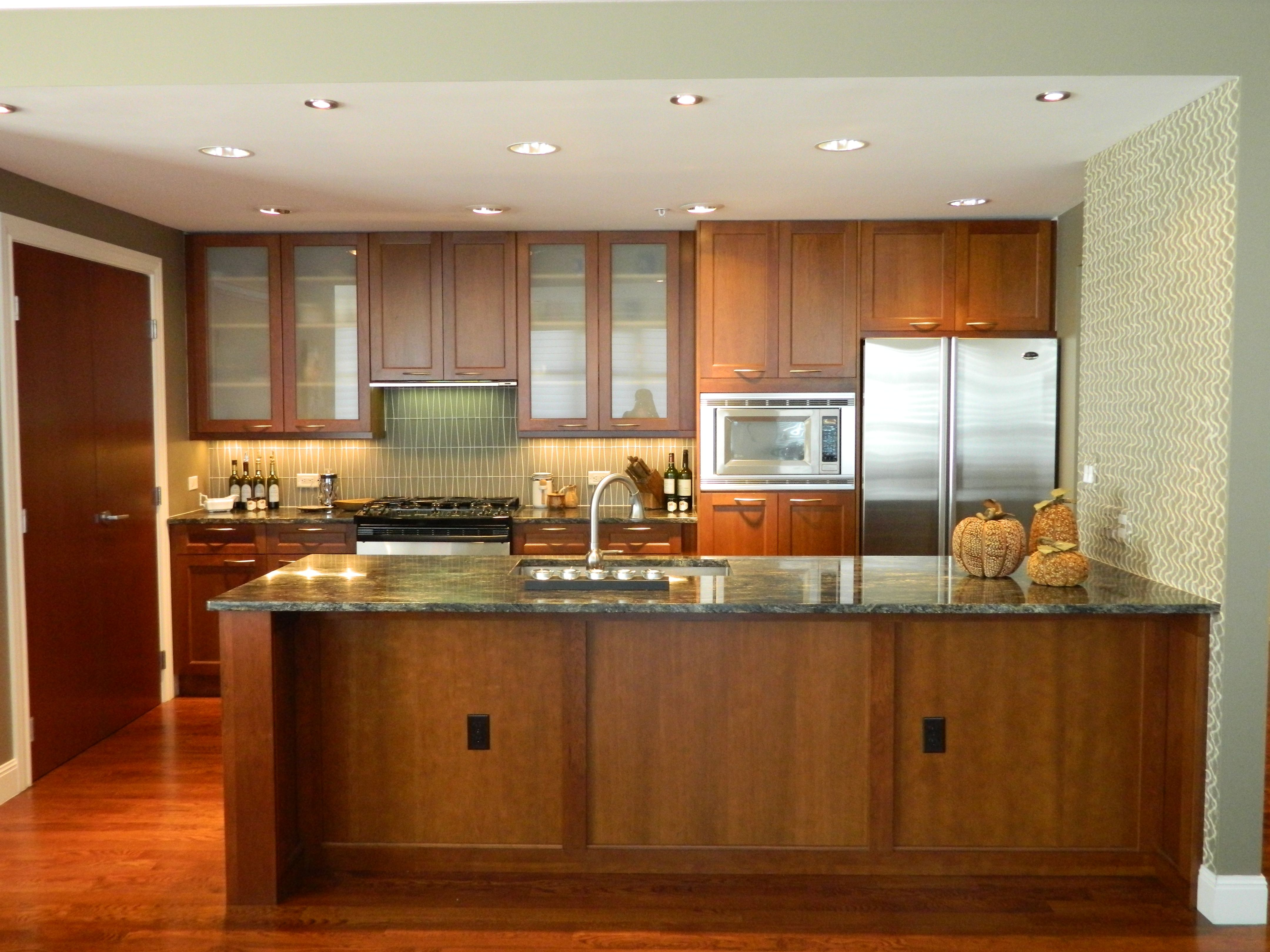 77 großen modern eingerichteten küche farben mit licht