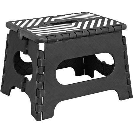 Incredible Simplify 9 Stripe Top Folding Step Stool Products Stool Ocoug Best Dining Table And Chair Ideas Images Ocougorg