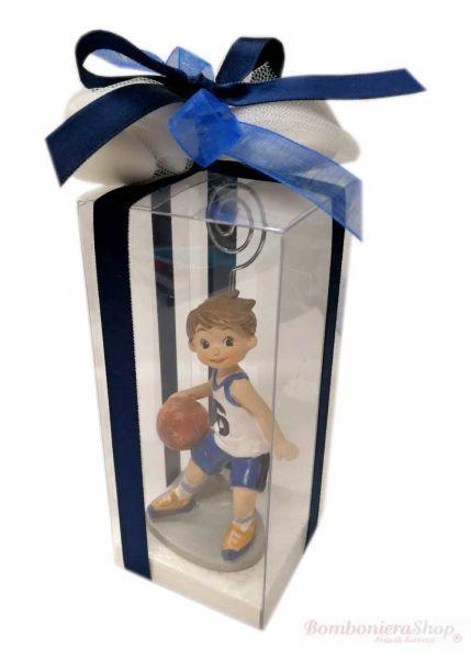 Giocatore Basket Portamemo Bomboniera Basket Comunione Bambino Puo Essere Utilizzata Come Portafoto O Portamemo Elegante Bomboniere Comunione Bomboniera