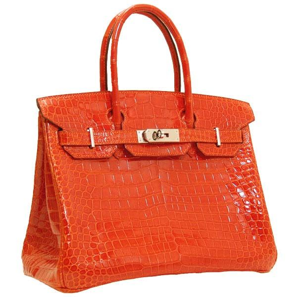 Birkin 30 Can Make You Get Everybody S Notice But Are Not Used To Their Special Attention On If Need Hermes Bag Orange Crocodile Skin