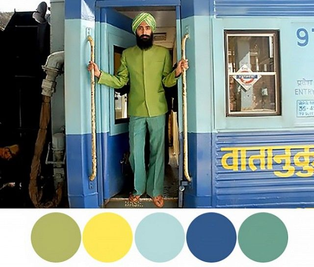 Décor Inspiration From The Color Palettes Of Wes Anderson S Films