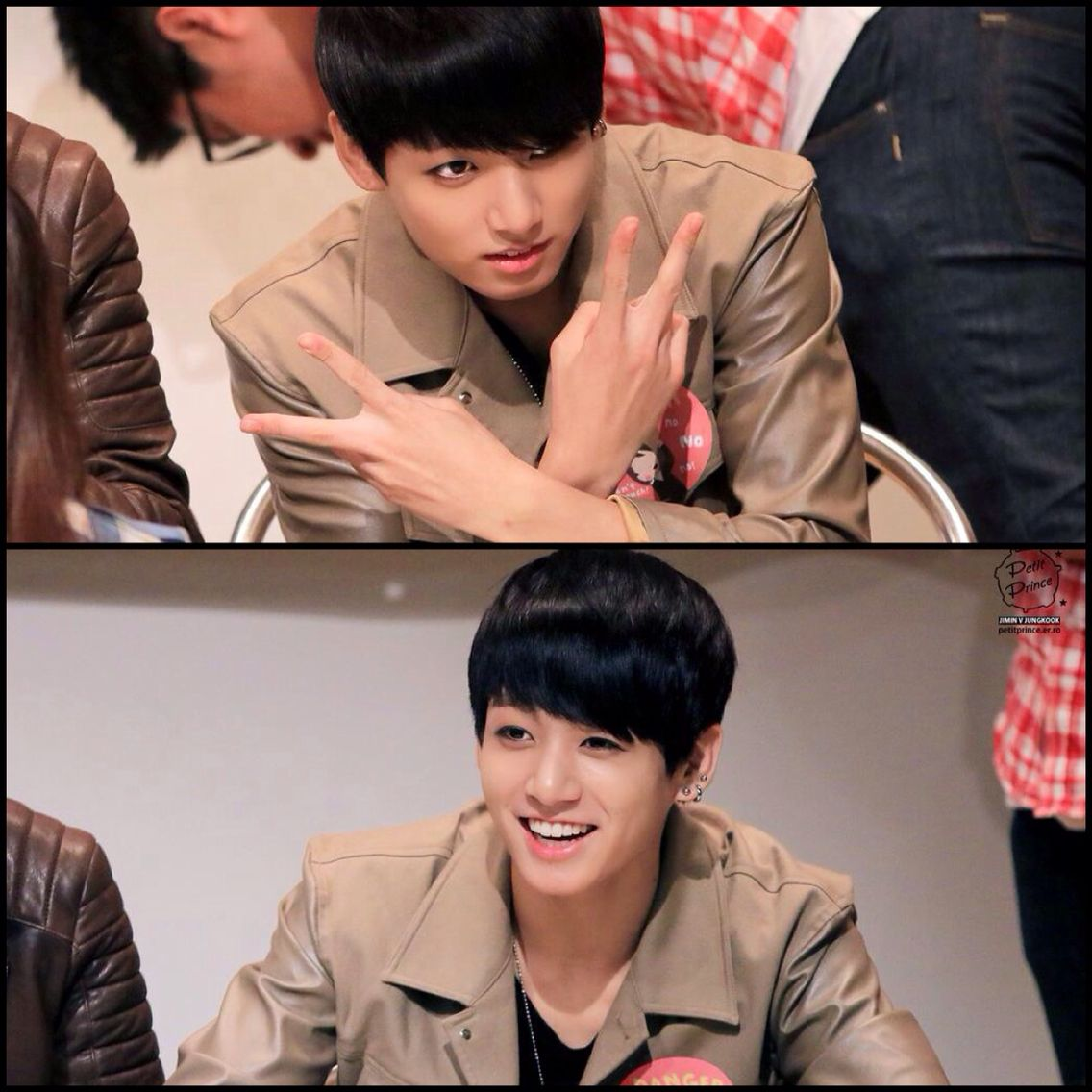 Jungkook from Bts fansign event