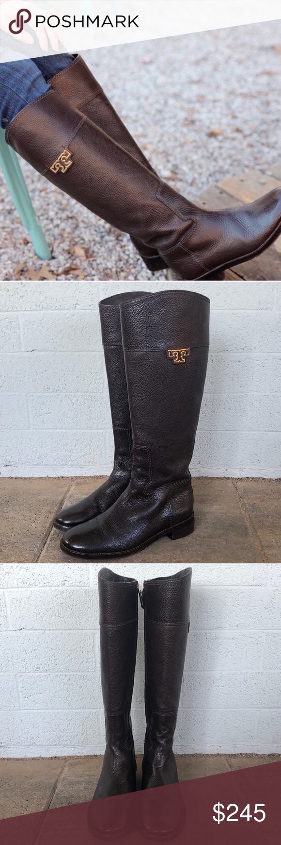 5b3391307f32 Tory Burch Joanna Riding Boot size 8 Tory Burch Joanna Riding Boot size 8.  Gently