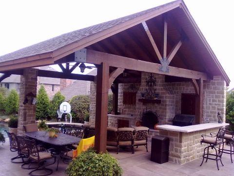 Outdoor Entertainment Area Designs Picture | Backyard ... on Small Backyard Entertainment Area Ideas id=67825