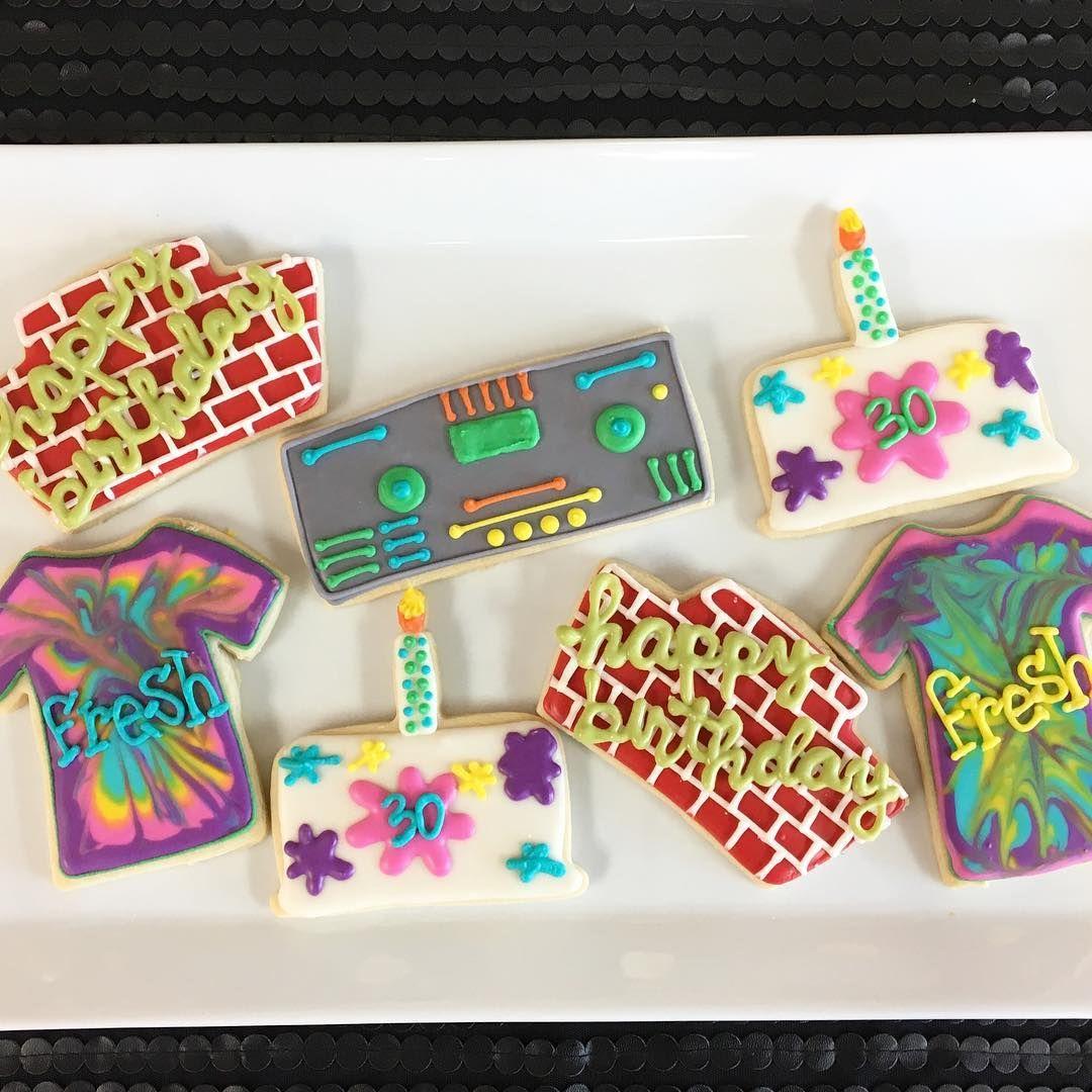 04281b48370 Fresh Prince of Bel Air inspired sugar cookies by sadiebabysweets.com