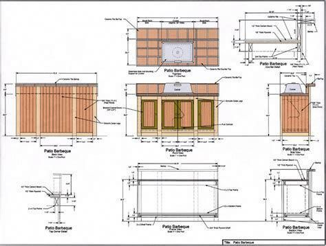 Image Result For Free Plans Building Outdoor Kitchen Outdoorkitchendesignsfloorplans
