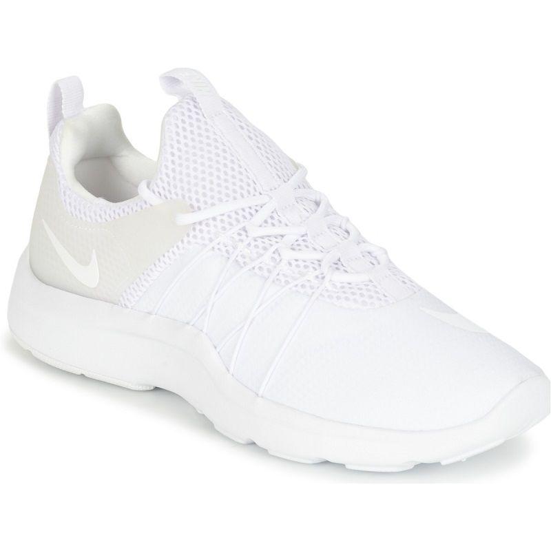 Nike Darwin W Blanc Pas Cher Prix Baskets Femme Spartoo