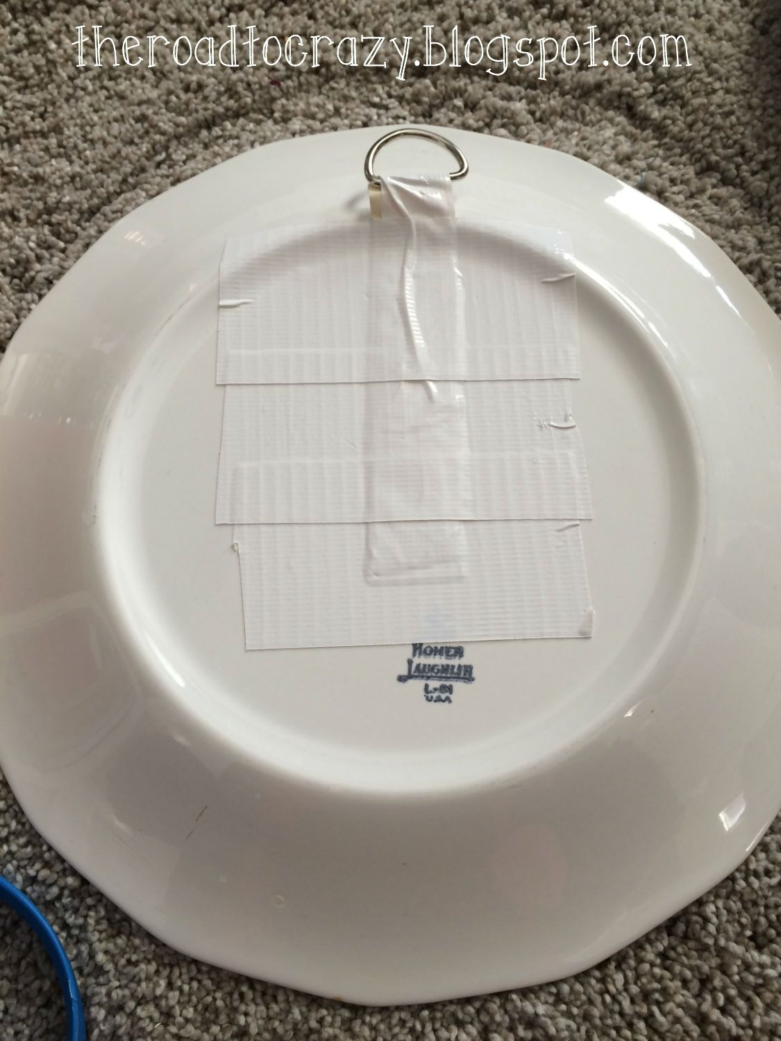 The Road to Crazy: DIY Plate Hangers | Plate hangers | Pinterest ...