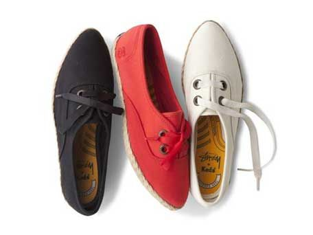 Stussy Keds Came in three colors.