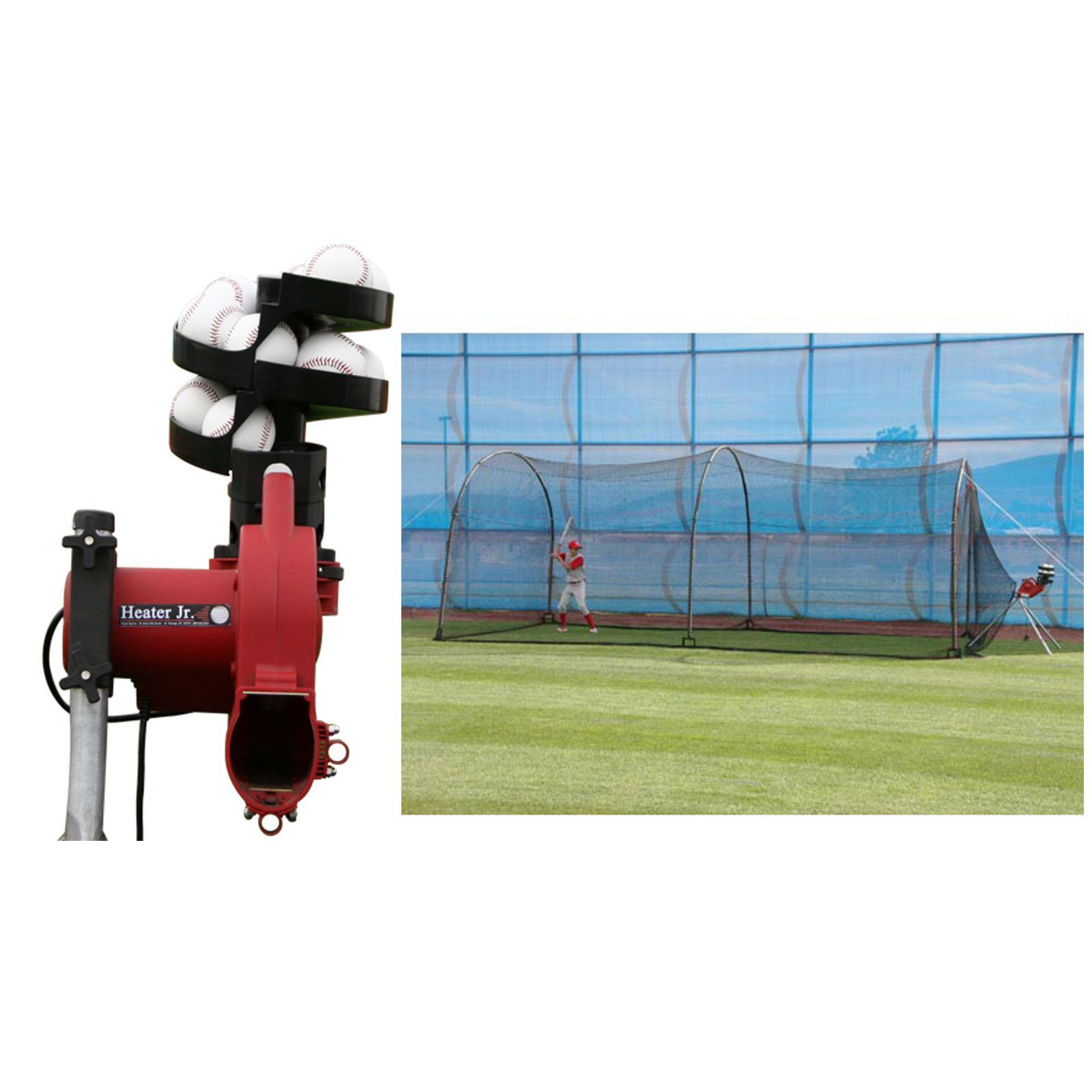 Trend Sports Heater Jr Real Ball Pitching Machine
