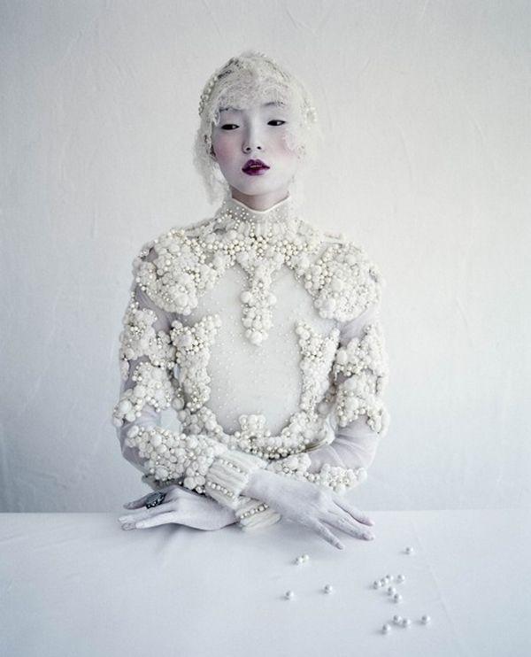 Julien d'Ys White wonderment for W Magazine
