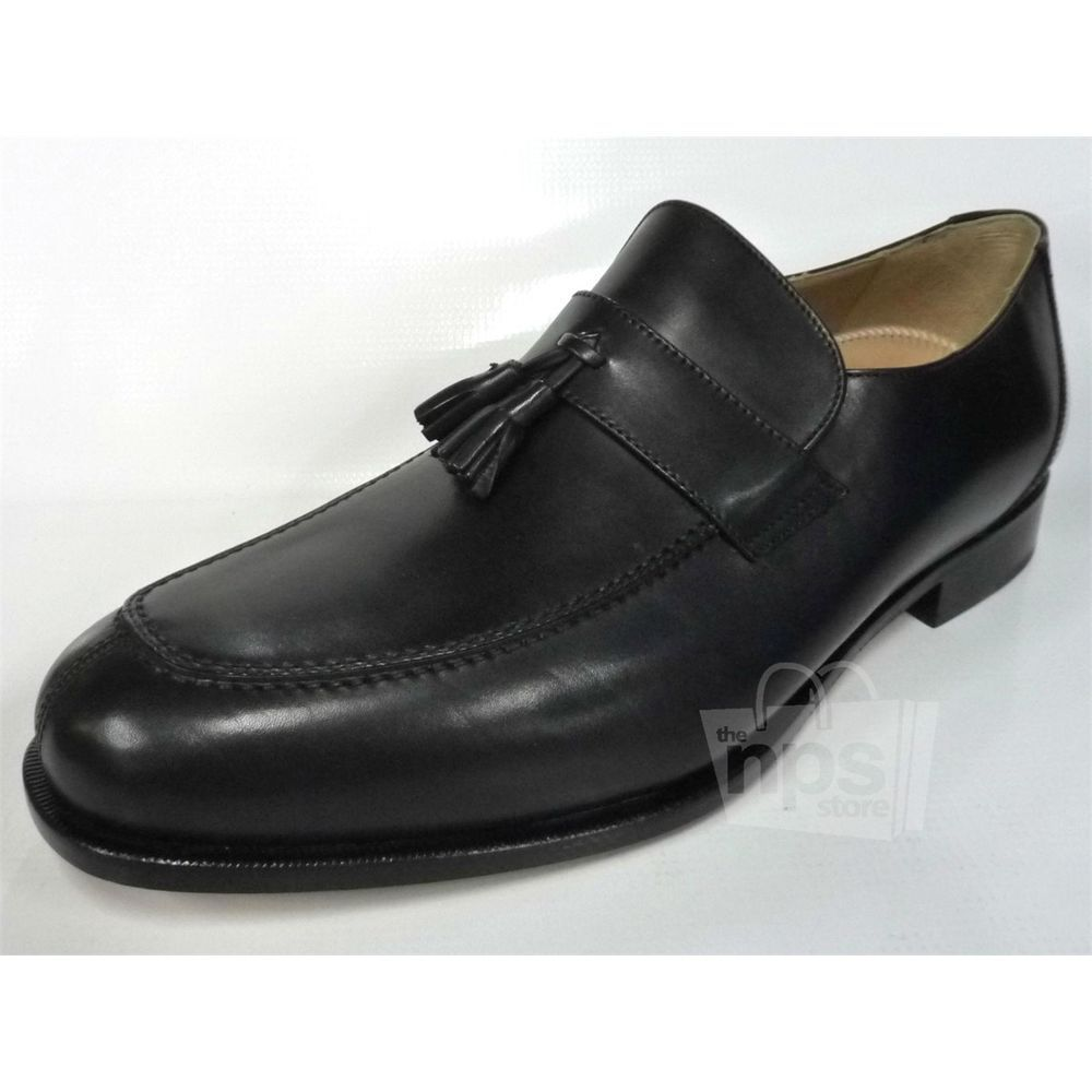 49d84009b02f Dino Monti  495 Mens Paolo Dress Loafers Size 13 Black Calf Leather  41505-14 (eBay Link)