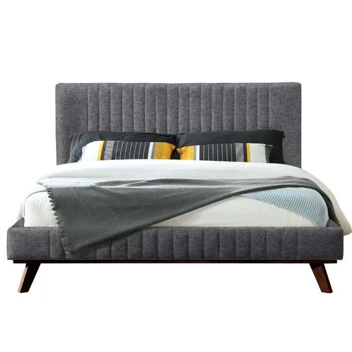 Kimble Queen Upholstered Platform Bed Upholstered Platform Bed Furniture Bed