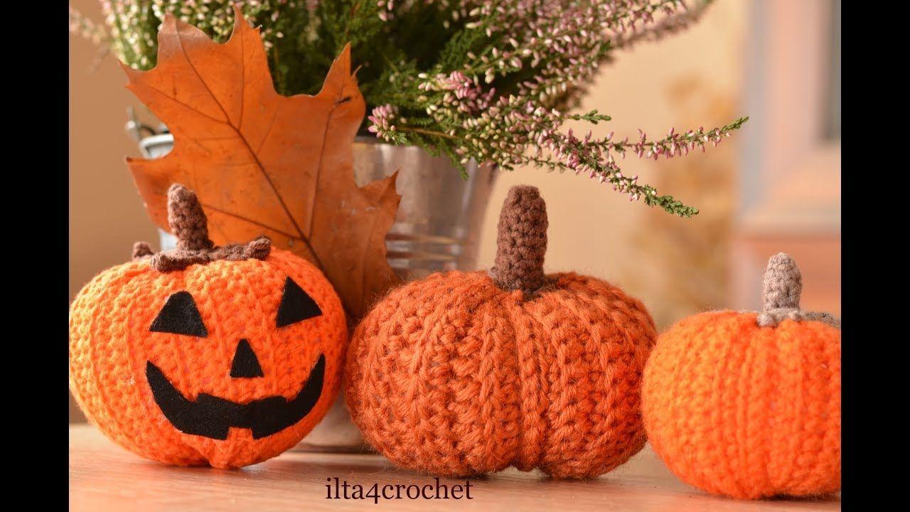 Jak zrobić szydełkiem dynię na Halloween ilta4crochet