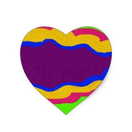 coloring kids shapes heart sticker kids shapes