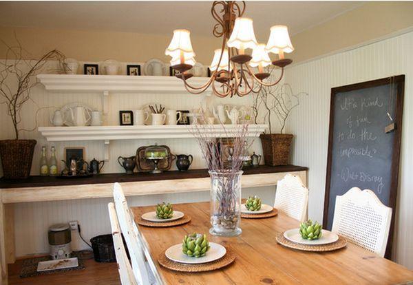 My Sweet Savannah Dining Room Shelving