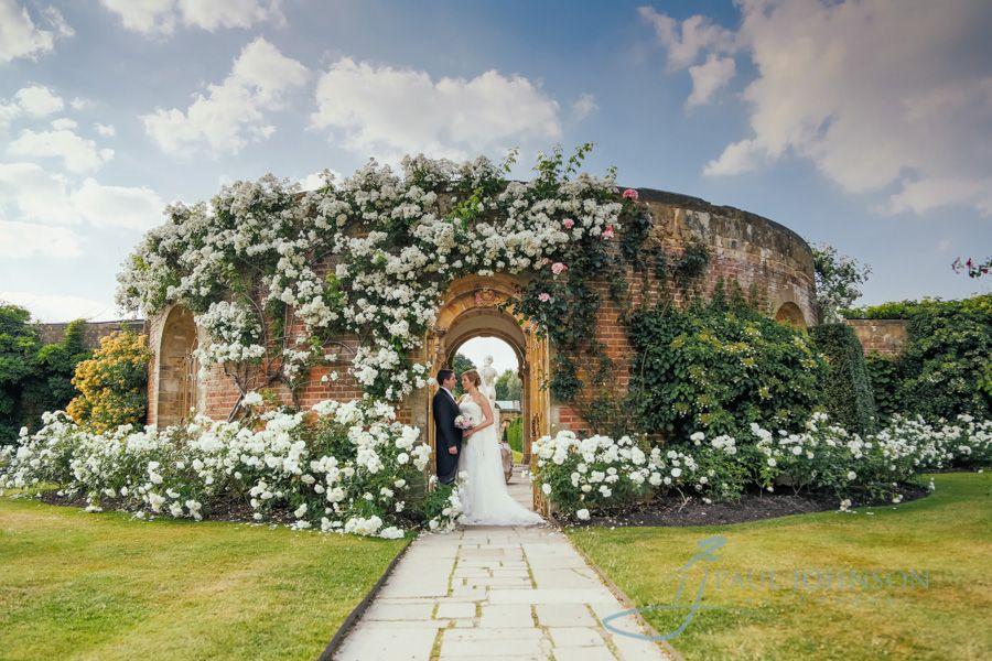 Hever Castle Rose Garden In Full Bloom