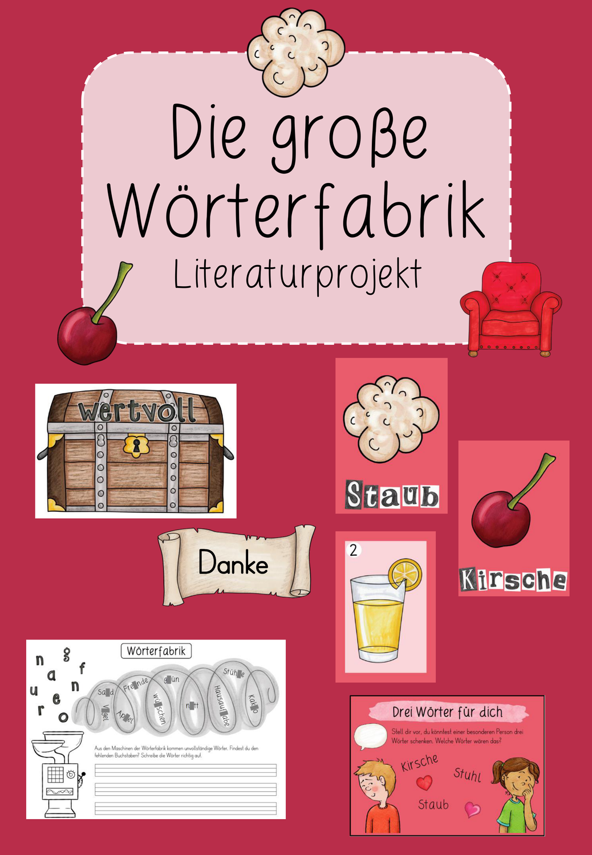 Die Große Wörterfabrik Unterrichtsmaterial