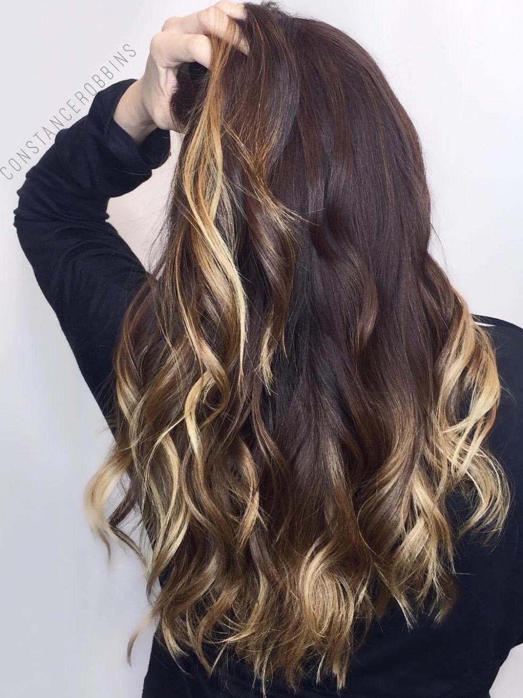 40 Two Tone Hair Styles Golden Blonde Highlights Golden Blonde