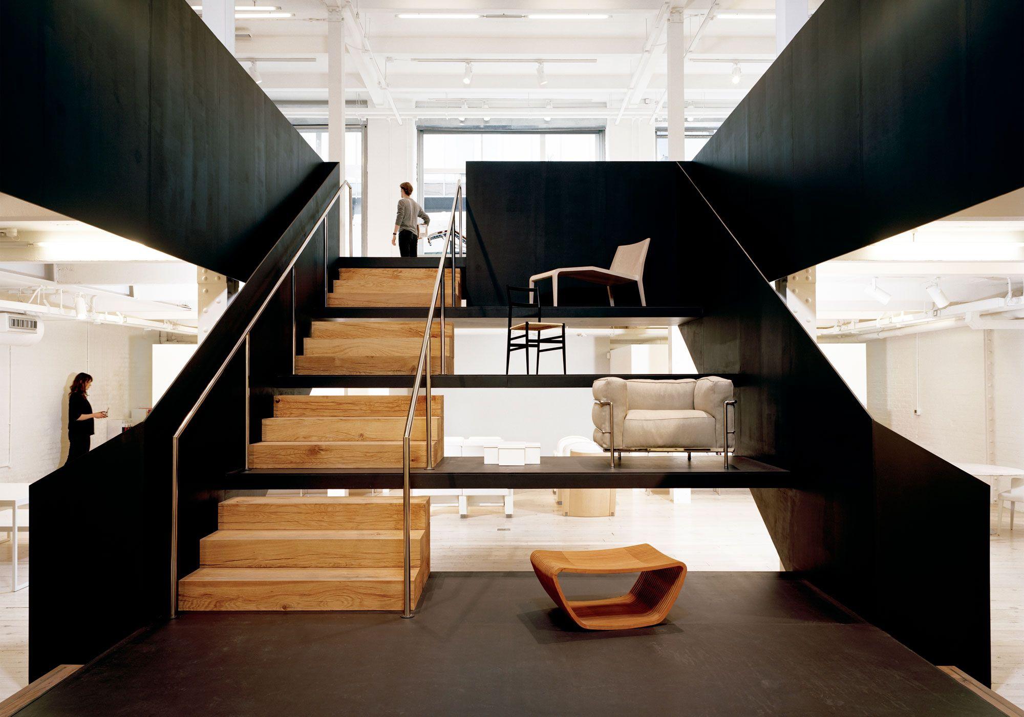 Poltrona Frau Showroom London Interior Architecture Design Staircase Design Interior Design Studio