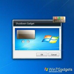 Shutdown Win 7 Gadget