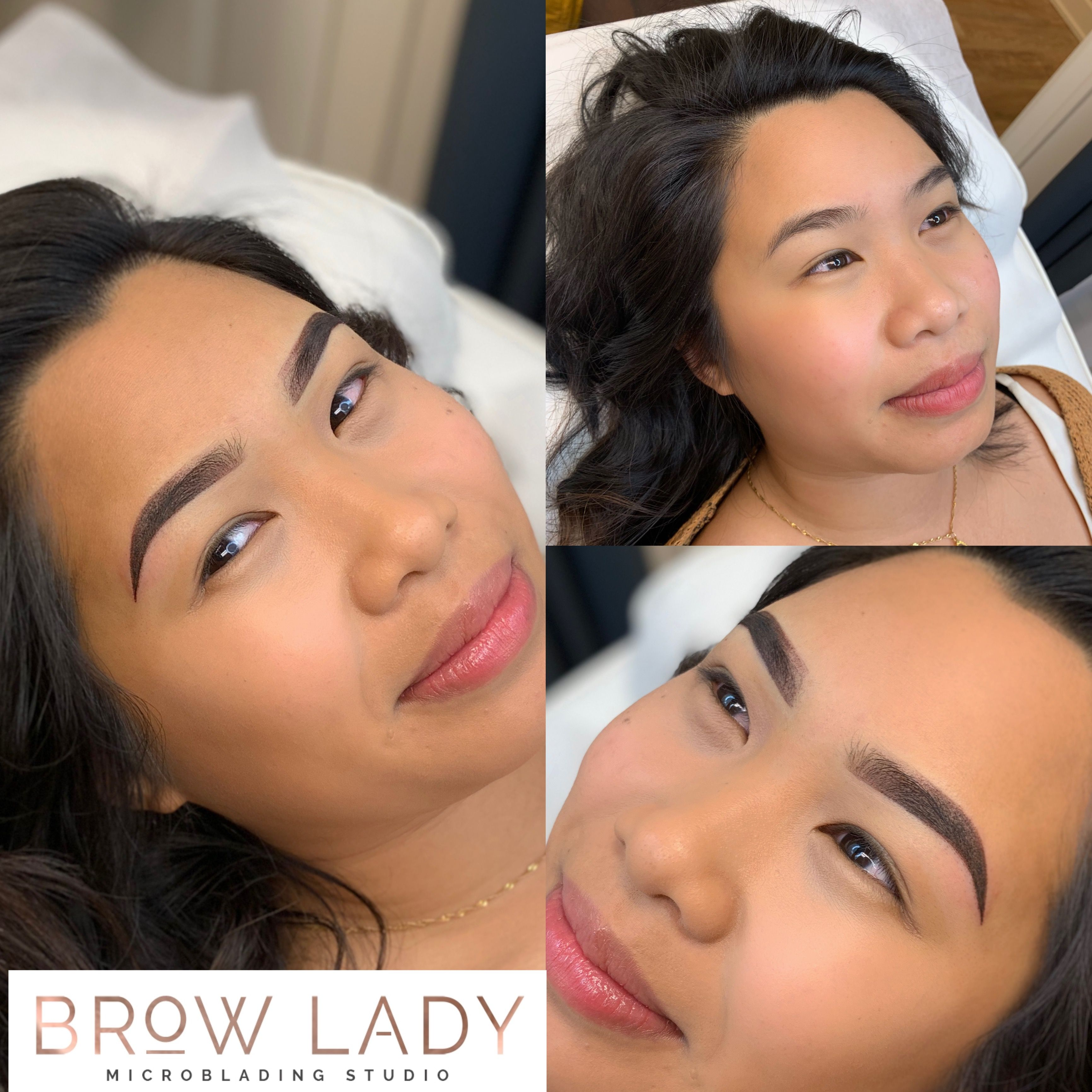 Before & After Ombré Brows Microblading eyebrows, Brows