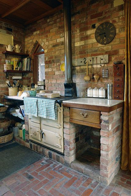 Rayburn Stove Cocinas Rusticas Cocinas De Cabanas Y Cocinas
