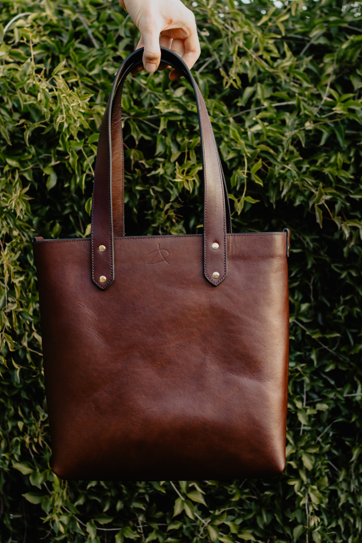 Handcrafted Tote Tote Leather Handcraft