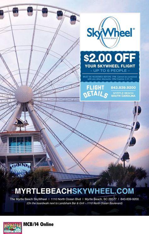 Myrtle Beach Skywheel Monster Coupon Myrtle Beach Skywheel Myrtle Beach Hotels Myrtle Beach