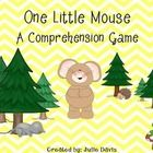 This designed to accompany the story One Little Mouse in the Scott Foresman's Reading Street Series for Kindergarten. This is a comprehension game.