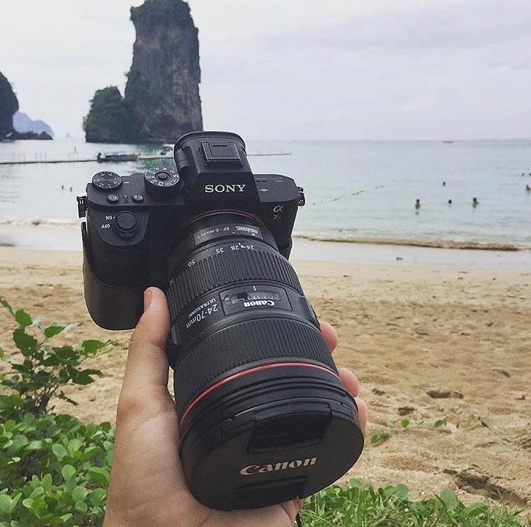 Sony A7r Ii With Canon 24 70 F 2 8 With Metabones Adapter Photo By Bobz Brunelle Sony Camera Sony A7r Ii Photography And Videography