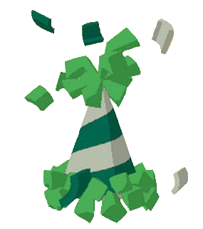 Image of: Items Animal Jam Party Animal Jam Party Hat green A Transparent By Growliththepupaj On Pinterest Animal Jam Party Animal Jam Party Hat green A Transparent By