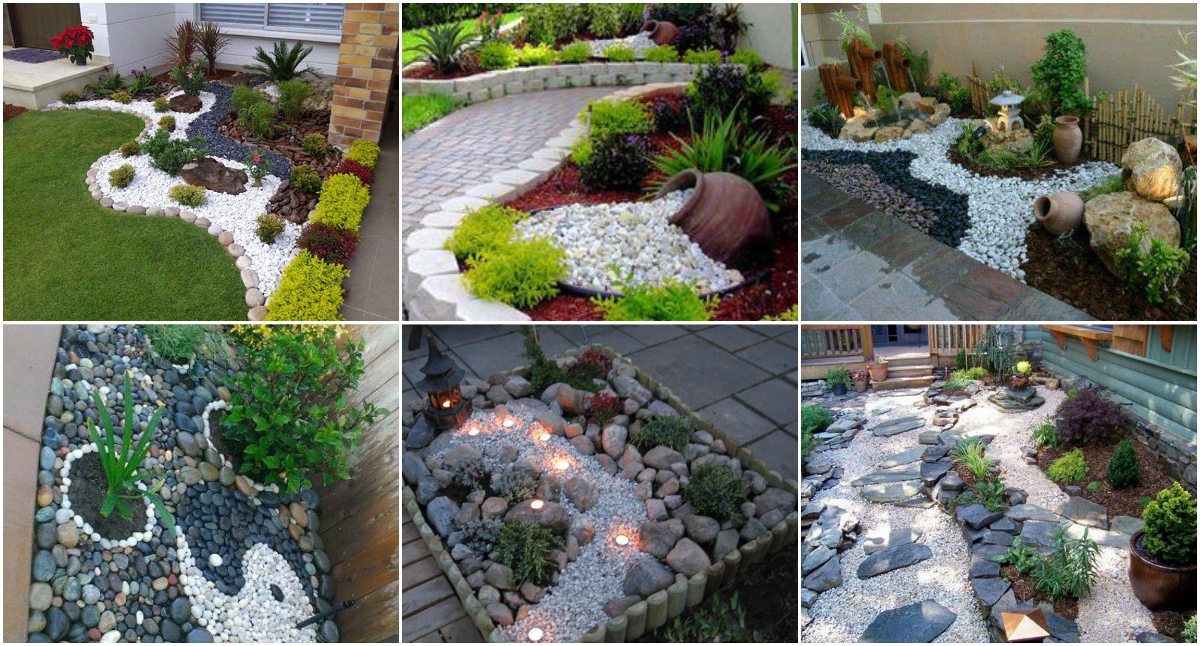 16 Garten Mit Steine Gestalten Garten Gestalten Garten Dekosteine Garten