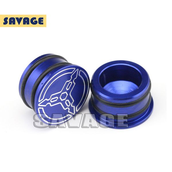 Motorcycle Accessories CNC Aluminum Frame Hole Caps Cover 2pcs For ...