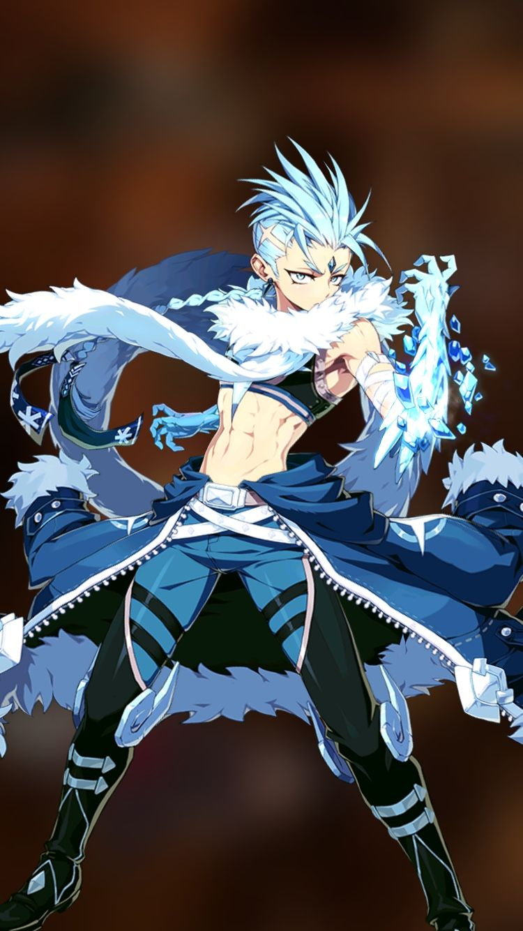 Epic Seven Zerato A genius frost mage who will freeze