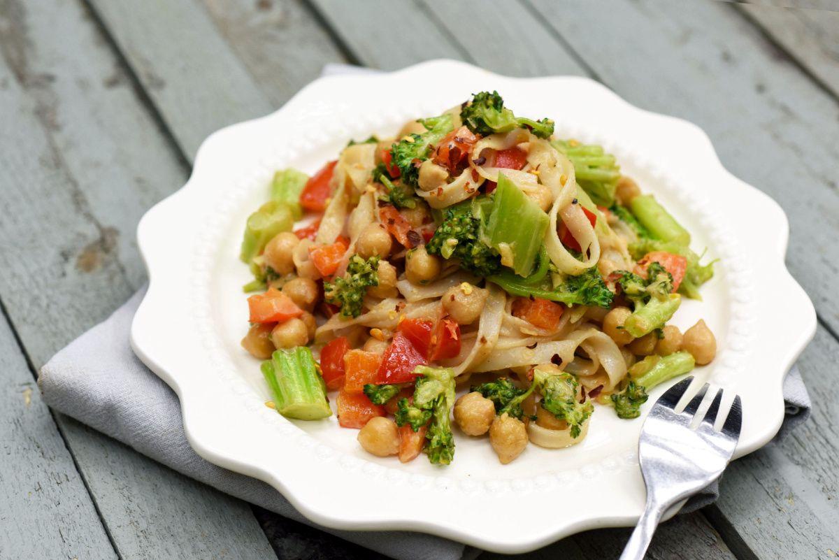 Make this thaiinspired vegan noodle dish in minutes