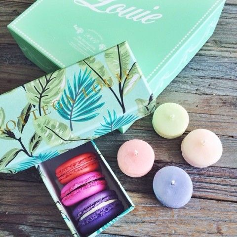Assorted 24 Piece Macaron Box Spotted on @chrisellelim