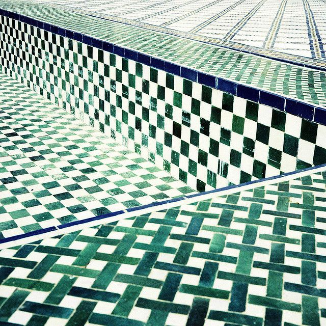 The Grid Carreaux Mosaique Tableau Vert Carrelage Marocain