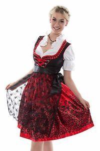 101eda605ac0df NEU-Dirndl-Set-3tlg-Dirndl-Set-Trachtenkleid-Kleid-Bluse-Schuerze-Gr ...